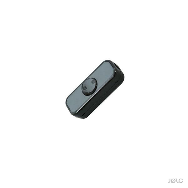 Schalter Schwarz für Textilkabel (Kopp Schnurschalter)