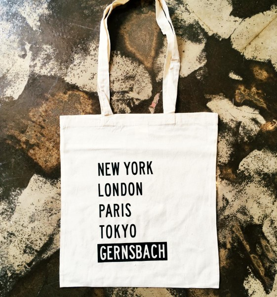 Jutebeutel   New York, London, Paris, Tokyo, Gernsbach