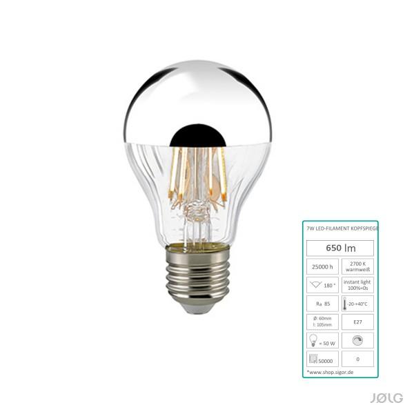 e27 kopfspiegel silber led leuchtmittel f r alte emaille j lg fabriklampen j lg. Black Bedroom Furniture Sets. Home Design Ideas