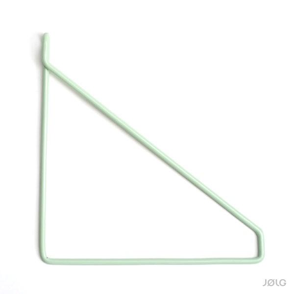 Regal Halterungen für DIY Wandregale Pastellgrün Regalhalterung