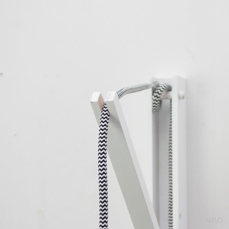 wandhalterung f r h ngeleuchten zum selbstbau einer individuellen wandlampe j lg. Black Bedroom Furniture Sets. Home Design Ideas