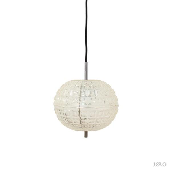 """Kleine midcentury 70s Hängelampe """"Bulb"""" ca. 25 cm"""