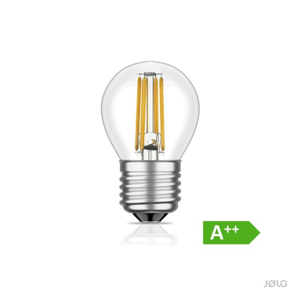 Mini E27 LED Birne Filament G45 5W = 39 Watt warm-weiß 450 lm A++